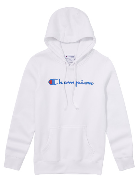 Champion Script Hoodie Top, White product photo
