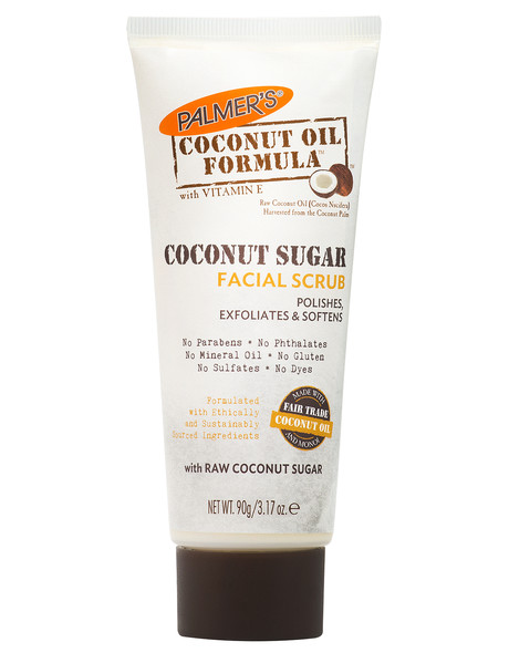 Palmers Coconut Sugar Facial Scrub, 90g product photo