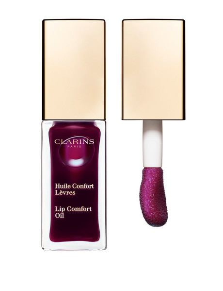 Clarins Lip Comfort Oil 08 Blackberry product photo