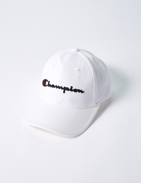 Champion Script Cap, White product photo