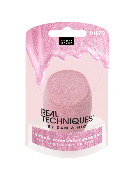 Real Techniques Sugar Crush Miracle Complexion Sponge Pink product photo