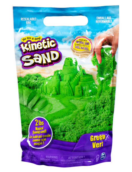 Kinetic Sand 2LB Coloured Sand, Assorted product photo