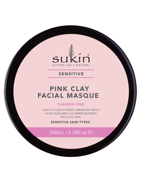 Sukin Pink Clay Facial Masque 100ml product photo