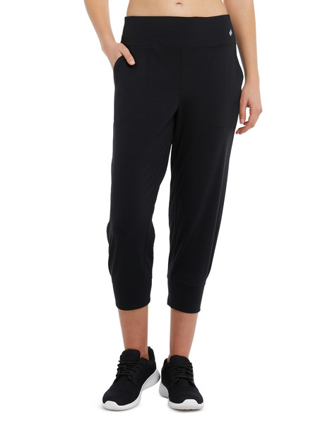 Superfit Cropped Jogger Pant, Black product photo