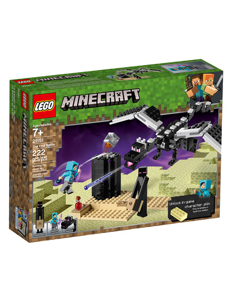 Lego Minecraft The End Battle, 21151