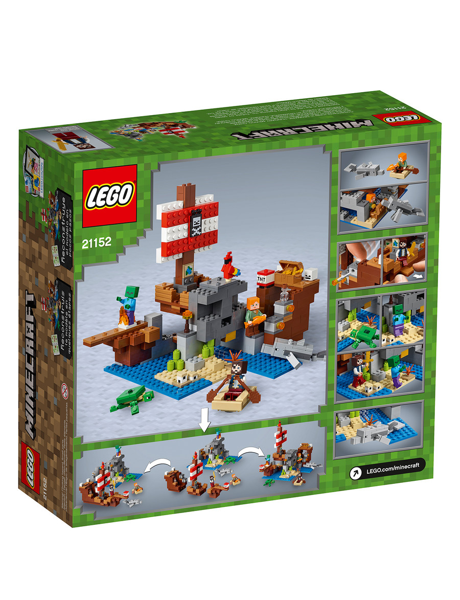 Lego Minecraft The Pirate Ship Adventure, 21152