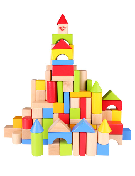 Tooky Toy Wooden 100 Pieces Set product photo
