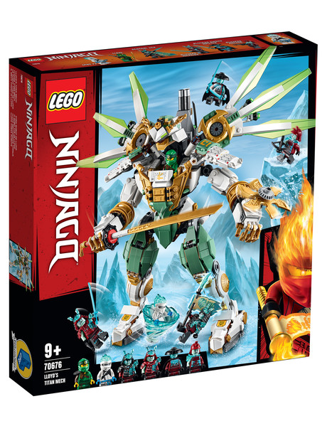 Lego Ninjago Lloyd's Titan Mech, 70676 product photo