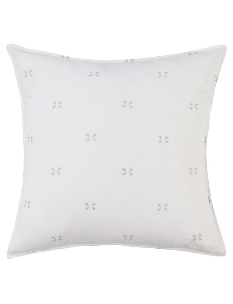 Domani Venice Euro Pillowcase, White product photo
