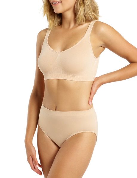 Ambra Bodysoft High-Cut Brief, Nude product photo