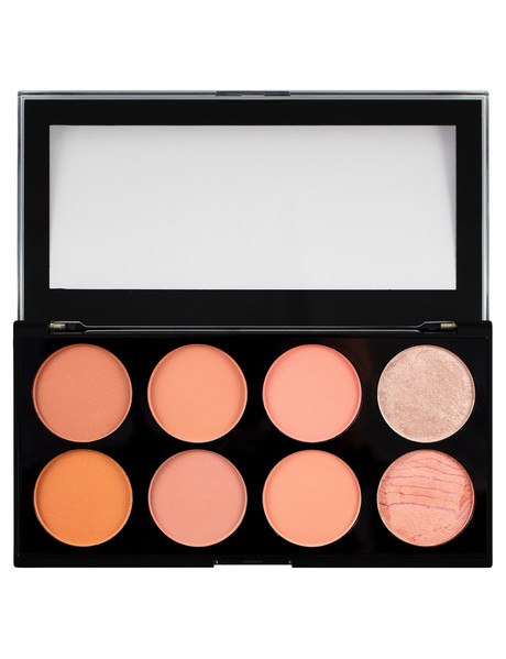 Makeup Revolution Ultra Blush Palette, Hot Spice product photo