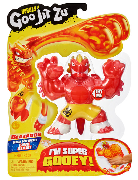 Heroes of Goo Heroes of Goo Jit Zu Single Pack - Assorted product photo