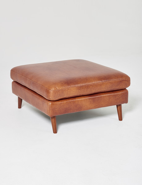 Luca Hendrix II Ottoman, Cognac product photo