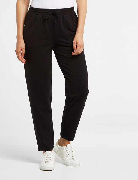 Ella J Super-Soft Trackpant, Black product photo