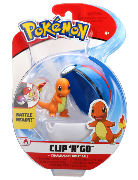 Pokemon Clip 'N' Go Ball, Assorted product photo