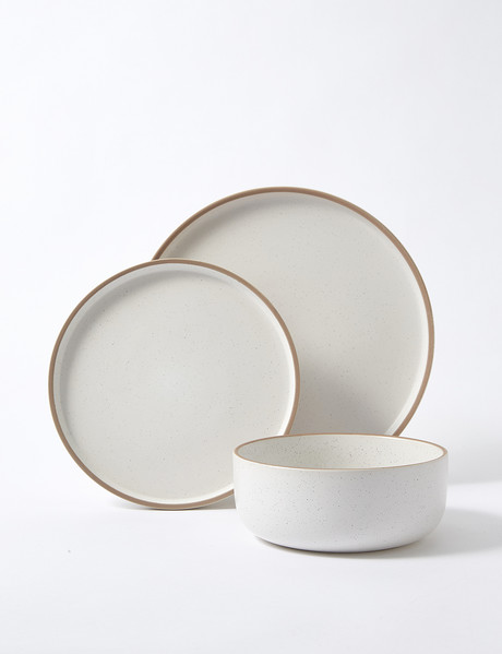 Salt&Pepper Hana Dinnerset 12-Piece, White product photo