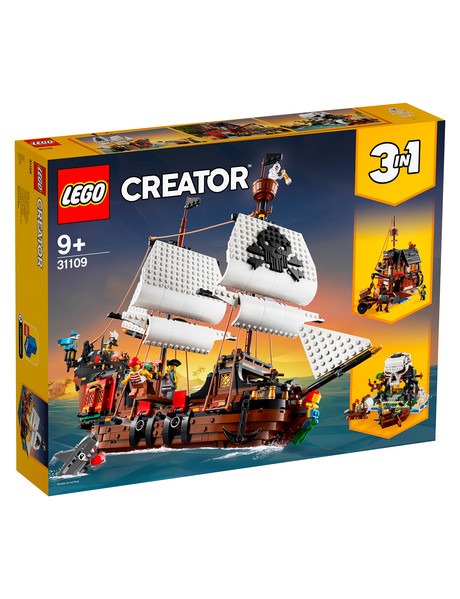 Lego Creator 3-In-1 Pirate Ship, 31109 product photo