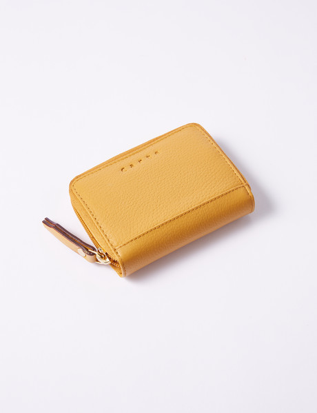 Carte Small Zippy Wallet, Mustard product photo