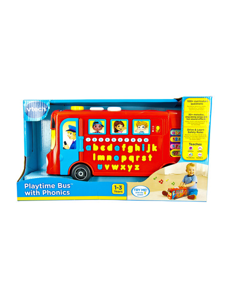 Vtech Playtime Bus with Phonics product photo