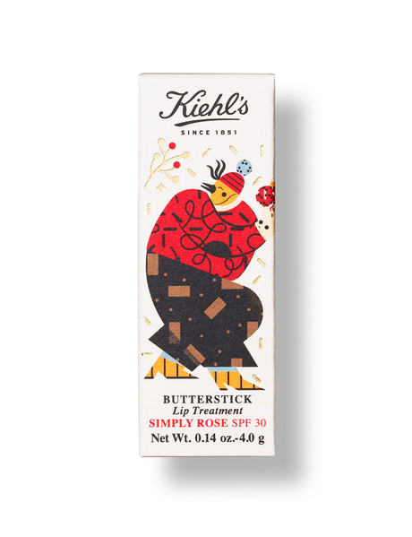 Kiehls Limited Edition Butterstick Lip Treatment SPF 30 product photo