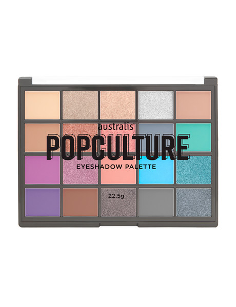 Australis Popculture Eyeshadow Palette, 22.5g product photo