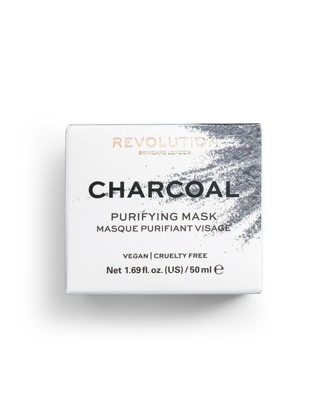 Makeup Revolution Skincare Charcoal Purifying Mask, 50ml product photo