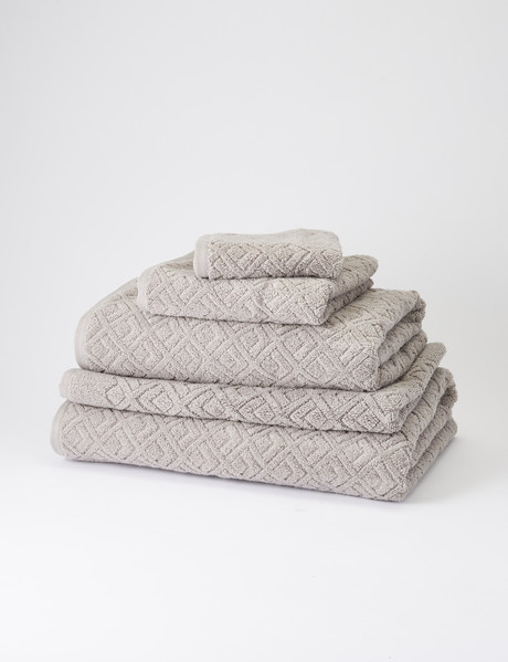 Kate Reed Liberty Towel Range, Silver product photo