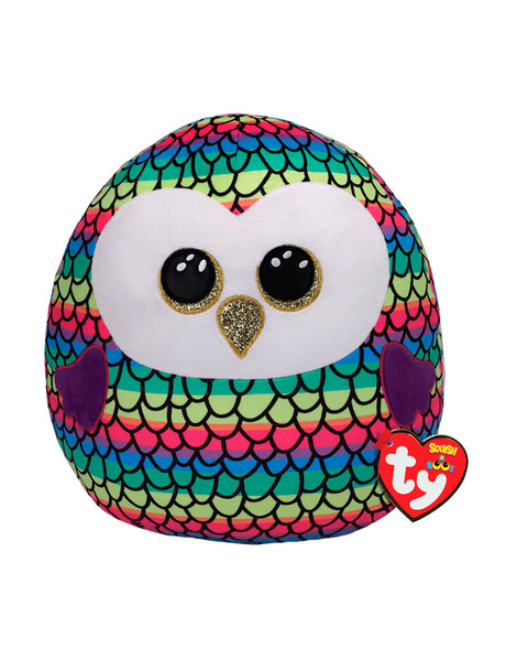 Ty Beanies Squish A Boos Owen Owl product photo
