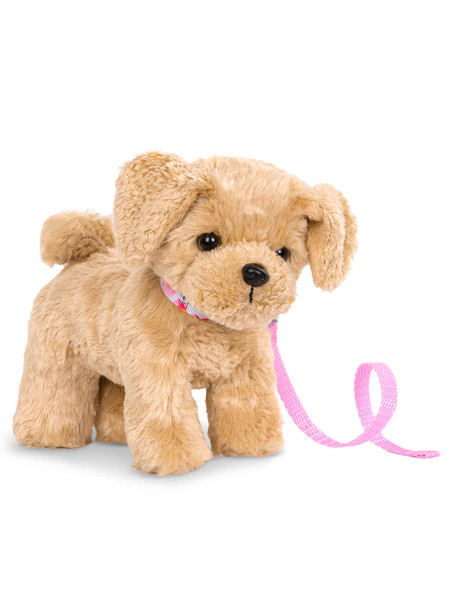 "Our Generation 6"" Poseable Puppy, Goldendoodle product photo"