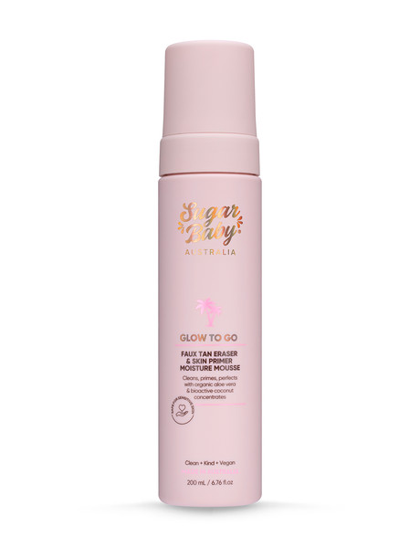 SugarBaby Glow To Go Remover Mousse, 200ml product photo