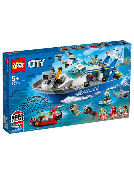 Lego City Police Patrol Boat, 60277 product photo