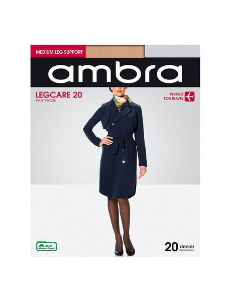 Ambra Qantas Legcare, 20 Denier Tight product photo