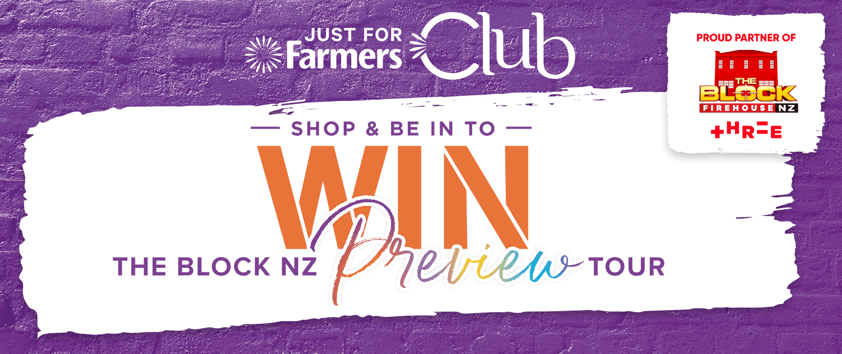 Shop and Be in to Win - The Block NZ Preview Tour