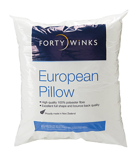 Forty Winks European Pillow