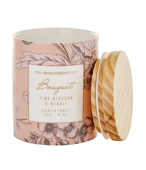 The Aromatherapy Co. Bouquet Candle 260g Pink Blossom & Neroli