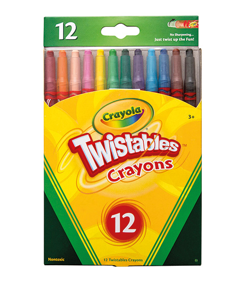 Crayola 12 Twistable Crayons