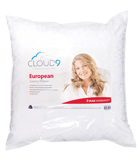 Cloud 9 European Pillow