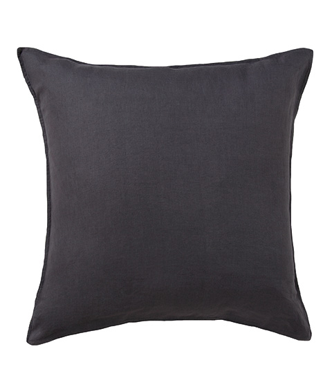 Domani Toscana European Pillowcase, Charcoal