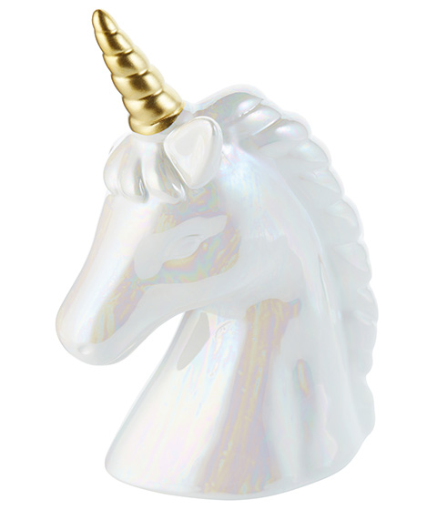 Irridescent Unicorn Head