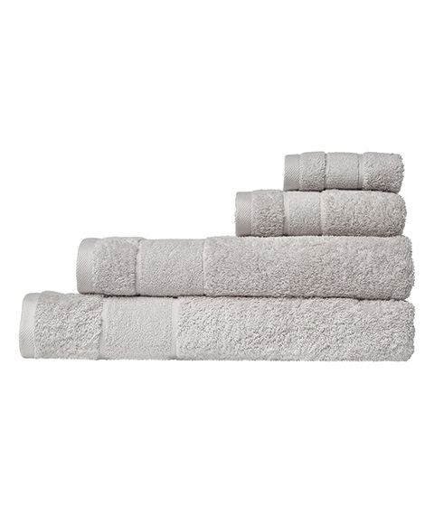 Domani Natura Towels, Grey