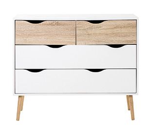 Haven Home Copenhagen 4-Drawer Lowboy