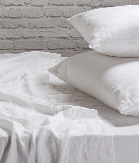 Domani Toscana Sheet Set, White