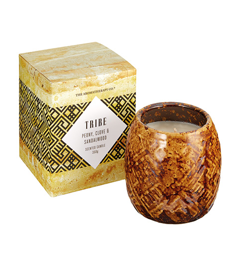 The Aromatherapy Co. Candle Peony, Clove, Sandalwood