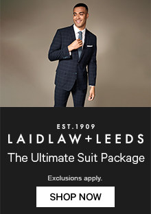 Laidlaw+Leeds The Ultimate Suit Package