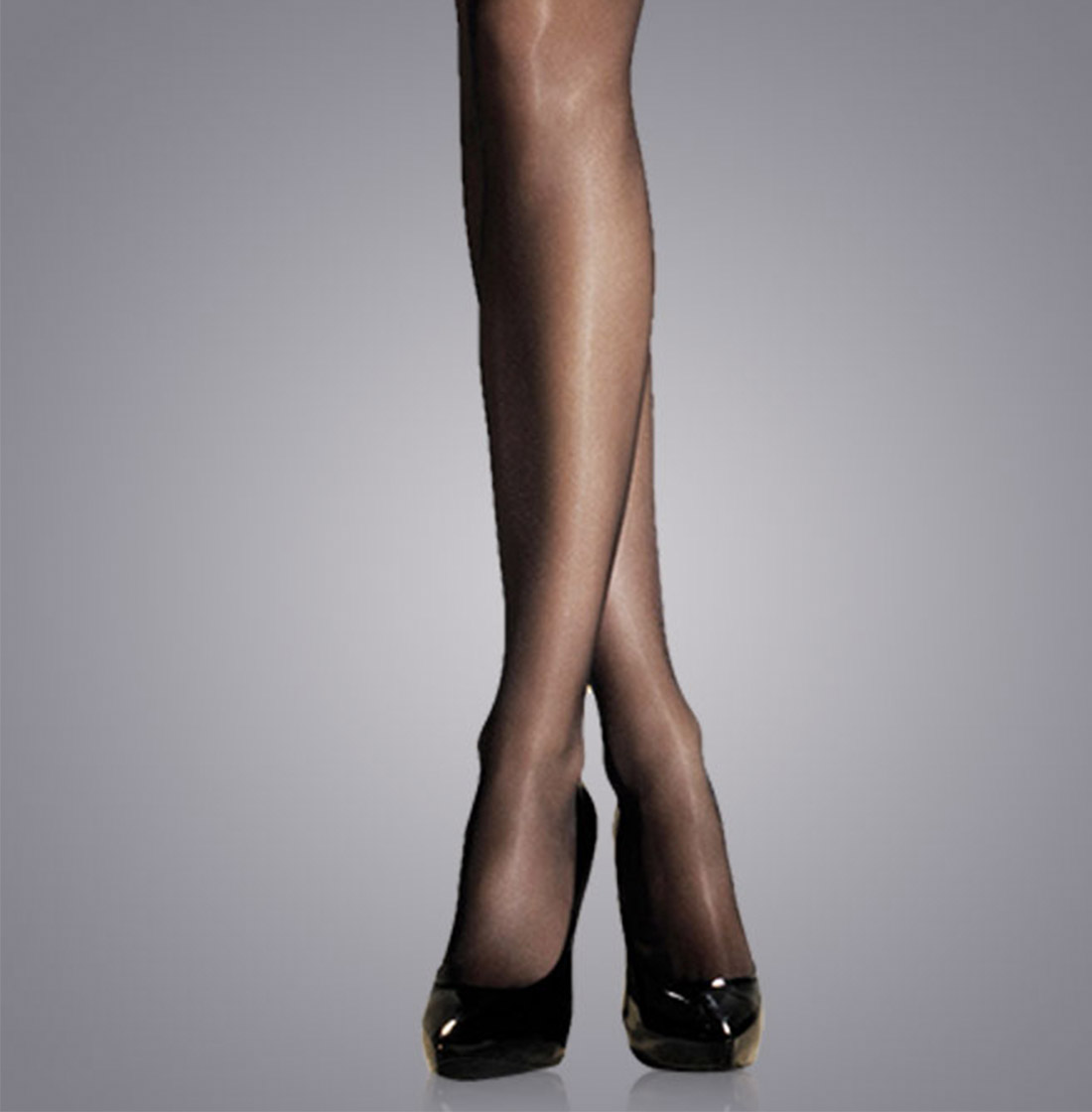 25085da8543 Satin finish hosiery has a pearl like sheen and is the perfect balance  between a matte leg look and a shine finish.