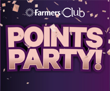Farmers Club Monthly Points Party