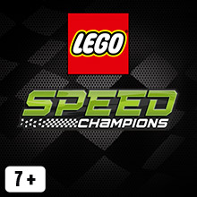 Lego Speed Champions tile