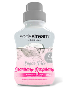 Sodastream Diet Cranberry & Raspberry 500ml Syrup product photo