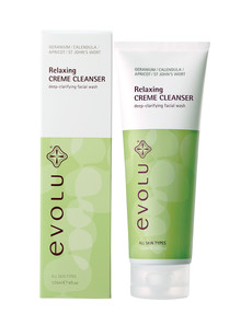 Evolu Relaxing Creme Cleanser, 125ml product photo