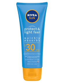 Nivea Protect & Light Feel Sunscreen Lotion SPF30, 100ml product photo